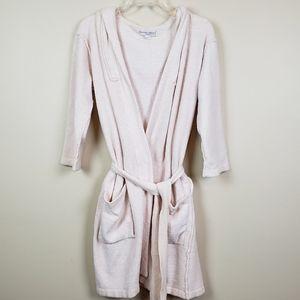 Barefoot Dreams Cozychic Lite Robe  Blush Pink 2